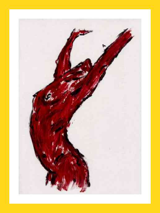 Nudo : busto rosso 2003 21x29 cm 20€